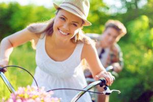 ways-to-improve-your-life-lady-riding-bike