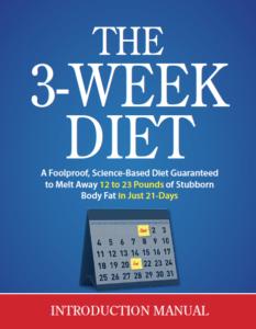 3-week diet review ebook