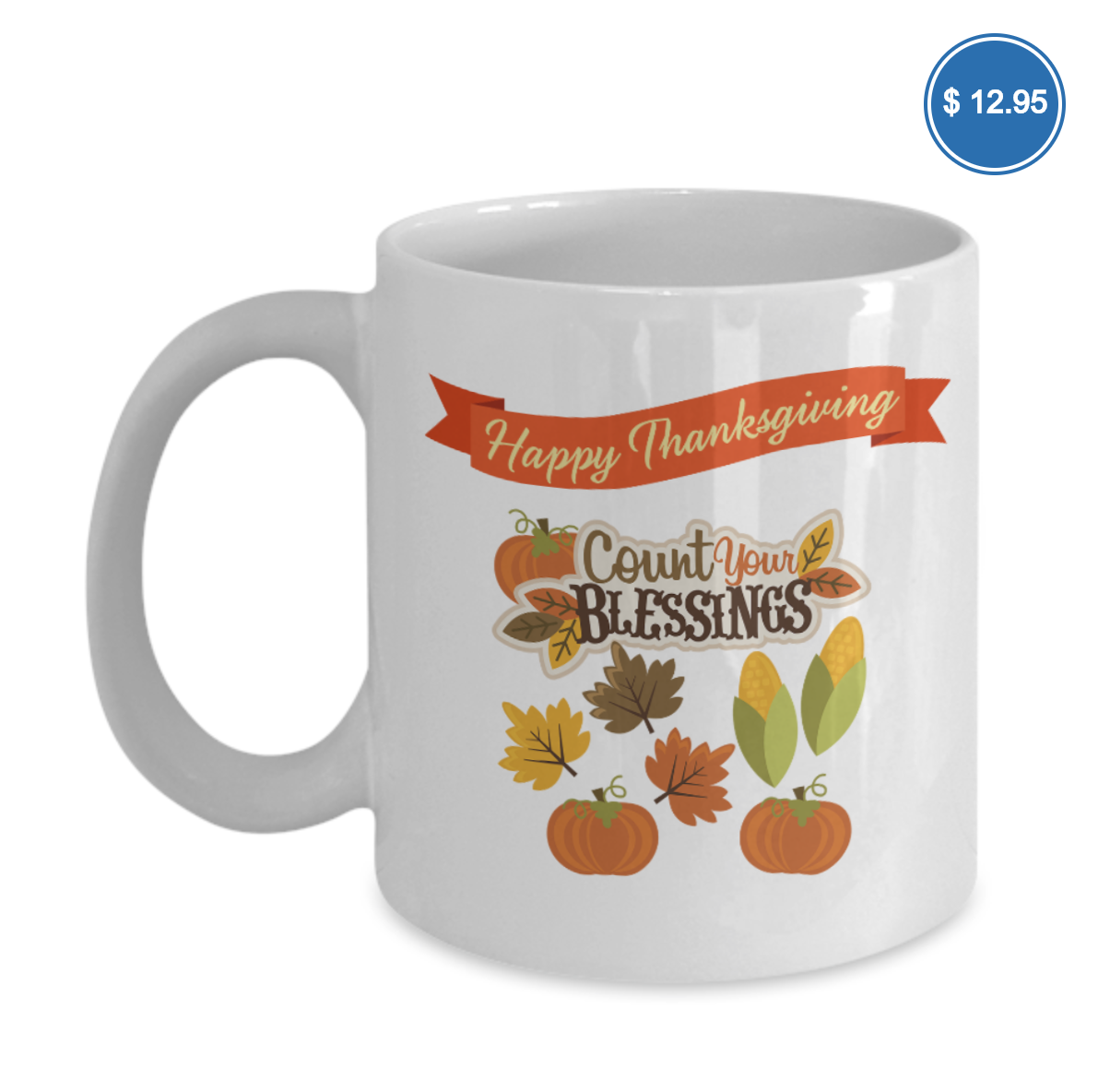 count your blessing coffee mug