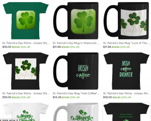 Check out the sale at my Etsy store--20% off until the end of February. Lots of cute St Patrick's Day products!