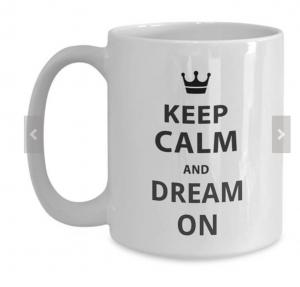 keep-calm-and-dream-on mug